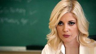 Hot teacher tastes teen