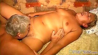 OmaPasS Granny Sex Amateur Video Compilation