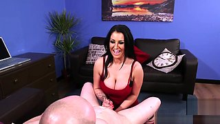 British Cfnm Babes Wanking Hard Dick