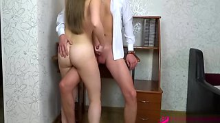 YOUNG SLAVE GIRL NON STOP MULTIPLE ORGASMS AND SKILLED BLOWJOB