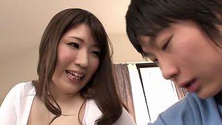 Fabulous Japanese model in Best Handjob, MILF JAV scene