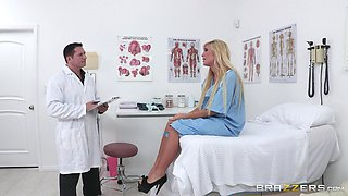 Amazing Sex With A Blonde Patient