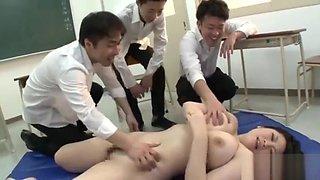 Married Teacher Molester Train - Chitose Saegusa (part 2)