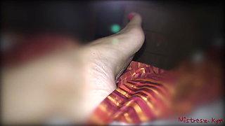 Femdom Feet - Mistress Kym Real Life Story (FLR)