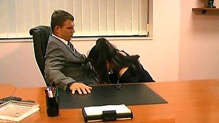 Young Secretaries Congratulated His Colleague On The Increase