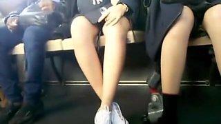 Bus Cam 3: 2 Asian Honeys