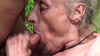 extreme ugly old mom first public fuck