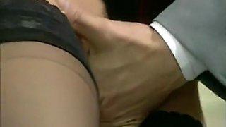 Exotic Stockings, Fetish adult clip