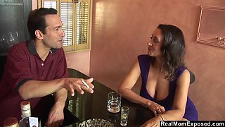 A sexual encounter at the bar and Persia Monir is one helluva busty woman