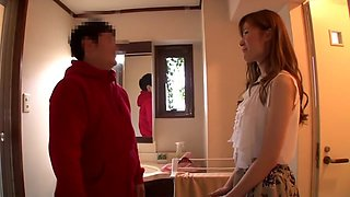 Yuna Hayashi in Happy Smile Amateur Home Visit Tour part 1