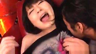Pussy toying for big milk sacks japanese