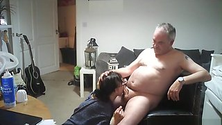 Older Couple Have a Great Time