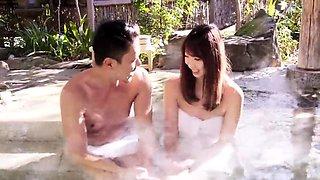 Asian Japanese Guy Seduces And Fucks Girl Spa Pool
