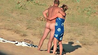 French pair on the beach, full version