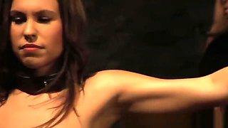 Slave spanked by naughty mistress