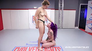 Sheena rose lesbian wrestling and pussy eating stephie staar