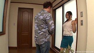 Nice fucking with provocative Japanese housewife An Mizuki