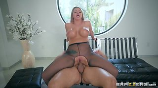 Brooklyn Chase & Keiran Lee in Nice Nylons - Brazzers