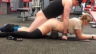 Trainer Fucks in Gym