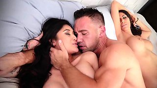 Hardcore sex compilation first time Family Shares A Bed