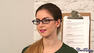 CumPerfection - Stella Cox Office Duties