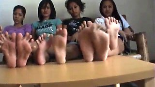 4 pairs of filipina soles