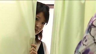 School girl japan in hospital