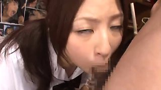 Slutty Oriental babe gets banged rough and drenched in cum