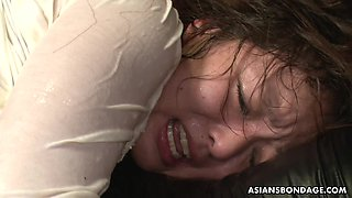 Ultimate Japanese SM video featuring tied up porn model Maki Kozue
