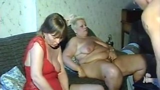 Devilish grannies enjoying a hot hardcore fun