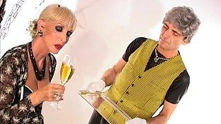 Horny pornstar Mistress Alexandra in exotic mature, blonde porn video