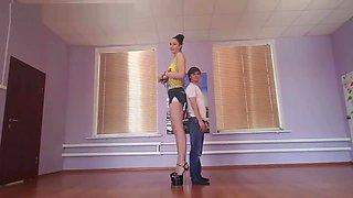 Tall Russian in heel