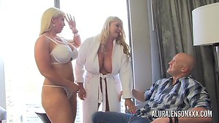 The Unyielding Udders Of Real Housewives - Alura Jenson And Karen Fisher