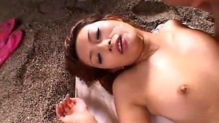 Amazing Japanese girl Nao Yoshizaki in Horny Blowjob, Facial JAV movie
