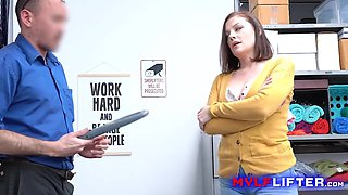 Shoplifting Milf Makes A Deal With Unorthodox Officer