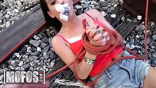 Keisha Grey And Brick Danger In Saved From A Sorority Prank Gone Wrong Thanks In Way