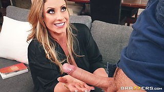 Eva Notty is a babe with a nice ass craving a nasty plowing session
