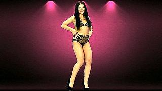 Sexy girl dancing