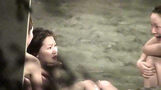 Hairy amateur Asians perform unconscious nudity show nri074 00