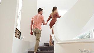 Big ass and boobs mature Cherie DeVielle moans during anal sex