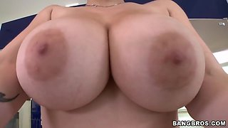 Lets weigh young perfect 18 years old big beautiful tits