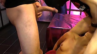 Huge Cocks and Sperm For Gorgeous Ani Black Fox - GGG