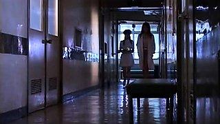 Naughty Asian nurses in uniform satisfy their lesbian needs