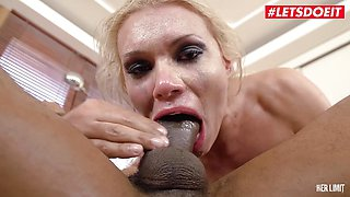 Sexy Russian Blonde Kitana Lure Gets Hot Anal Sex