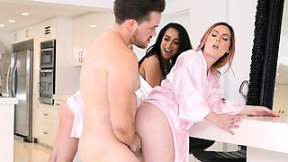 Kyle thrust the bride and her friends wet pussy hardcore