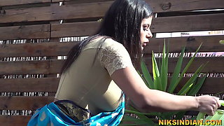 Indian sister in law with very big boobs seduces her Devar