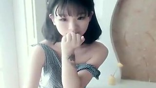 Exotic homemade Skinny, Chinese adult movie