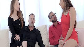 Hot Stepdaughters Gia Derza Jillian Janson Swapped Stepdaddy Calvin Hardy