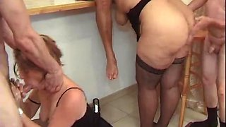 Swingers fucking party with french guys and horny sluts