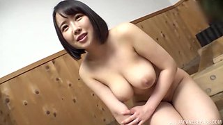 Japanese sexual encounter for a busty young amateur babe